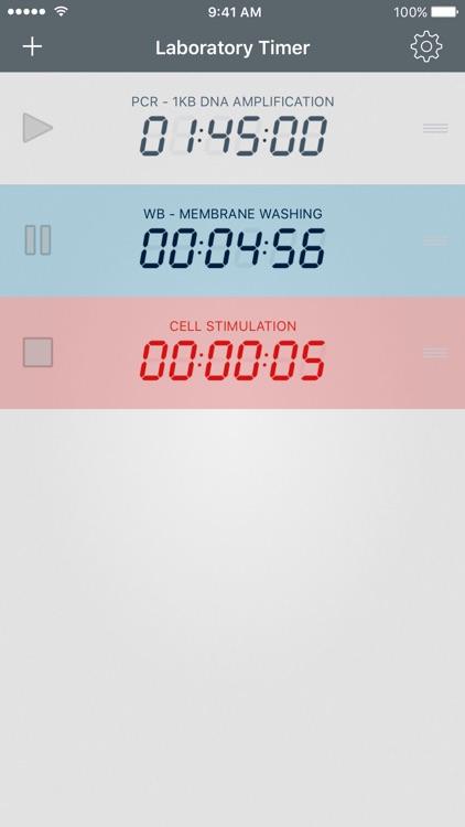 Laboratory Timer