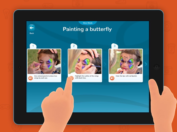 Sequence it! – Create and arrange sequences, for kids with autism and other special needs