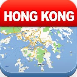 Hong Kong Offline Map - City Metro Airport