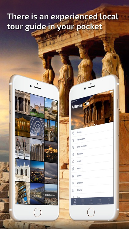 Athens - Offline Travel Guide screenshot-0