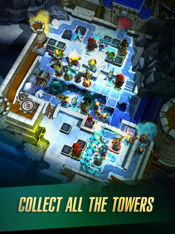 Defenders 2: Tower Defense CCG на iPad