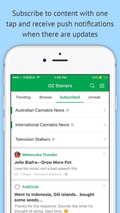 OZ Stoners Cannabis Community screenshot-3