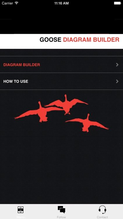 Goose Hunting Diagram Builder-Canada Goose Hunting screenshot-4