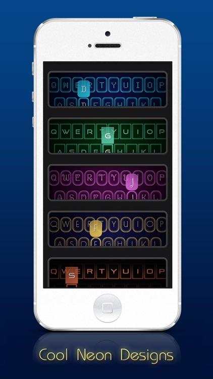 Neon Keyboard - Custom keyboards with colorful neon glow!