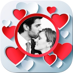 Editor love frames - romantic images to frame your beautiful photos