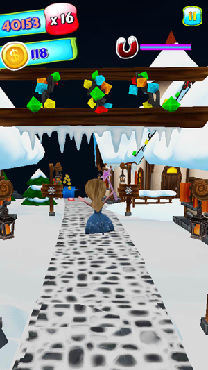 Running Princess Frozen Snow - New Fun Run Ice Adventure Game For ...