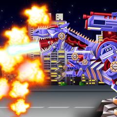 Dinosaur Robot guerrier Guerre