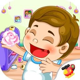 大头儿子帮妈妈做家务 习惯养成 儿童游戏