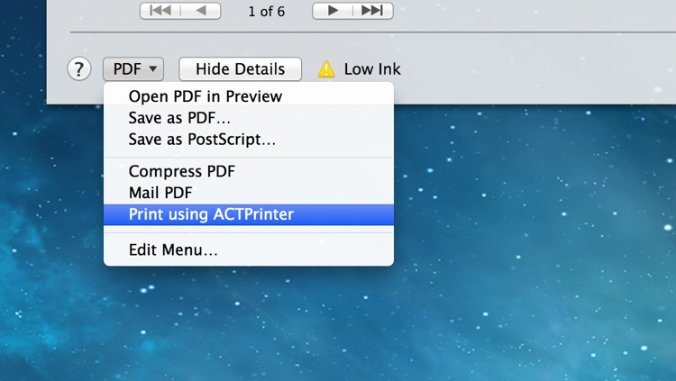 ACTPrinter - Virtual Printer screenshot-4