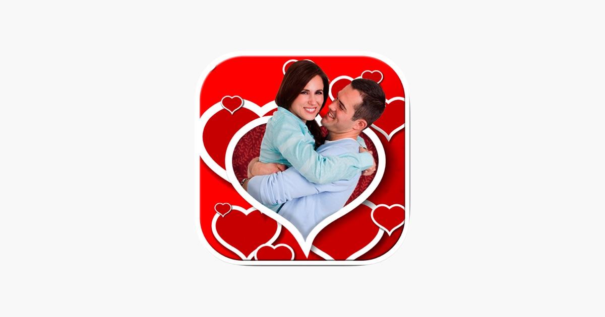 Bilderrahmen Liebe - Liebe Rahmen Fotomontage, um Ihre romantische ...