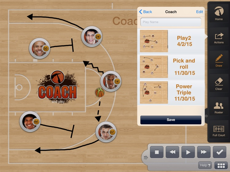 Coach and Play screenshot-1
