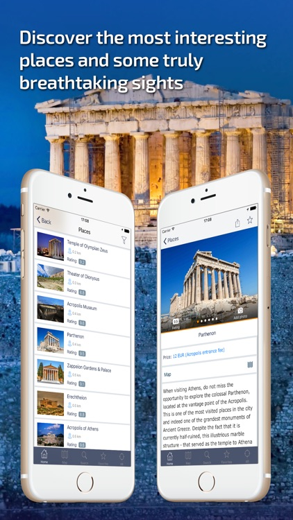 Athens - Offline Travel Guide