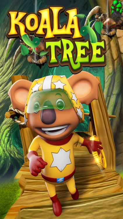 Koala Tree : Epic Run & Jumping Adventure