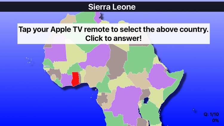 Maps for apple tv africa map quiz gumiabroncs Choice Image