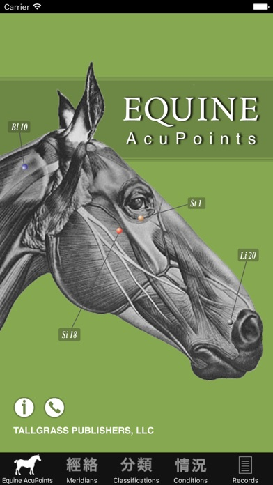 Screenshot for Equine AcuPoints in Denmark App Store