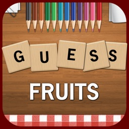 Guess Fruits & Veggies - Best Free Guessing Word Search Puzzle Game