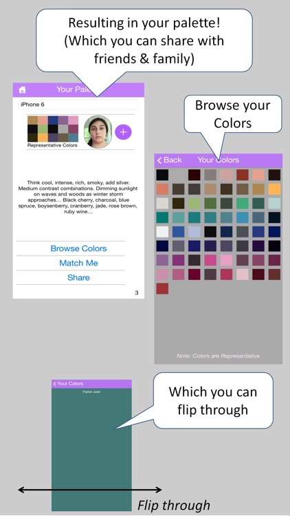 All Eyes On Hue – Portable, Personalized Seasonal Color Match Genius