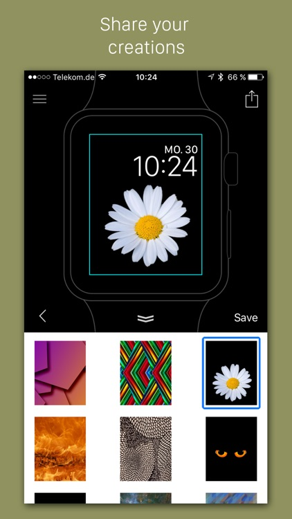 Faces - Custom backgrounds for the Apple Watch photo watch face screenshot-4