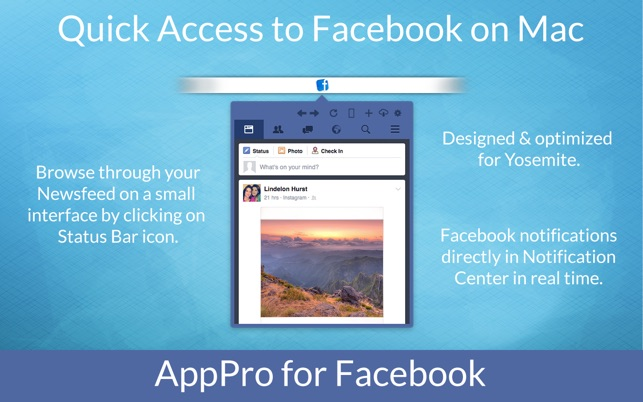 ‎AppPro for Facebook on the Mac App Store