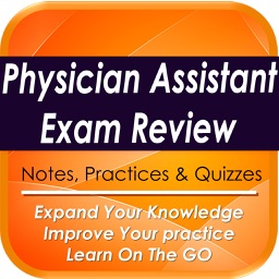 Physician Assistant Exam Review: 1600 study notes & quizzes