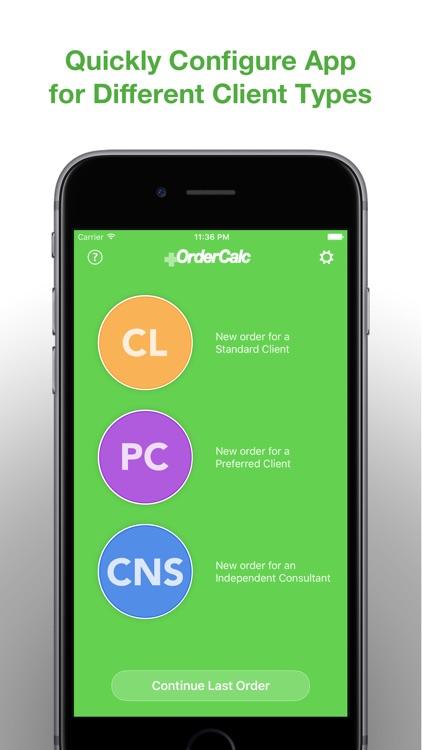 Order Calculator screenshot-0
