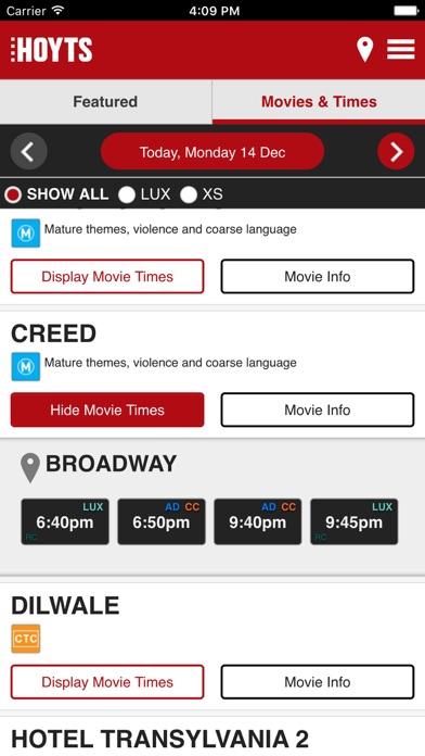 Download Hoyts Cinema Australia for Pc