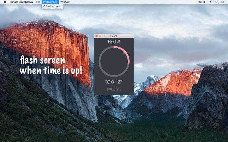Simple Countdown - a simple countdown timer скриншот программы 4