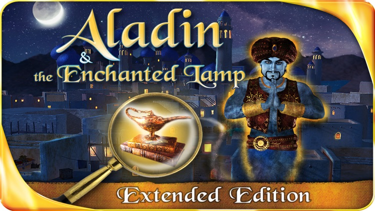 Aladin and the Enchanted Lamp - Extended Edition - A Hidden Object Adventure screenshot-0