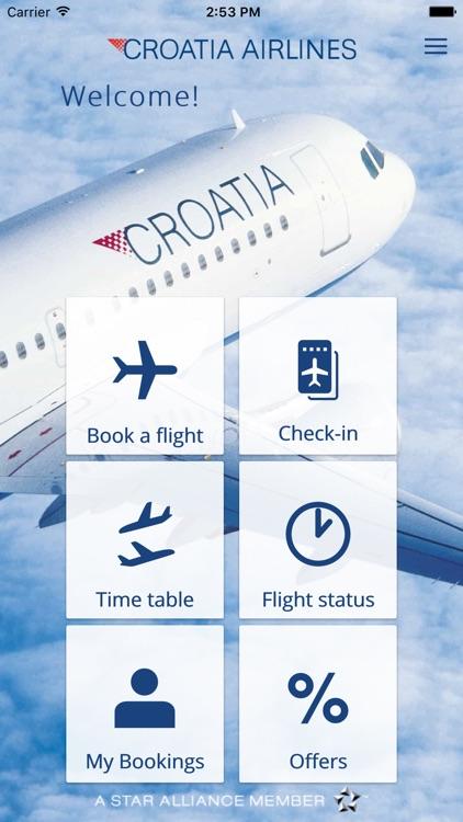 Croatia Airlines screenshot-4