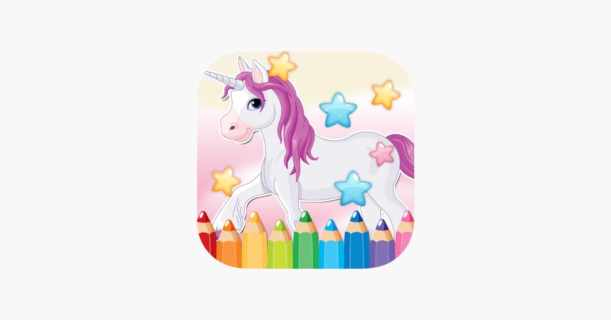 Libretto di unicorno disegno da colorare pagine di idee - Libero unicorno pagine da colorare ...
