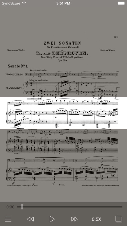Beethoven Cello Sonatas screenshot-0