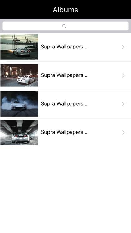HD Car Wallpapers - Toyota Supra Edition screenshot-3