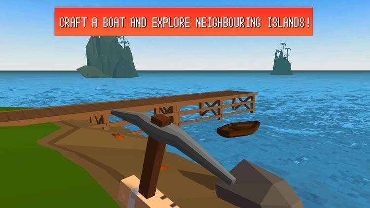 Craft Island Survival Simulator 3D screenshot-4