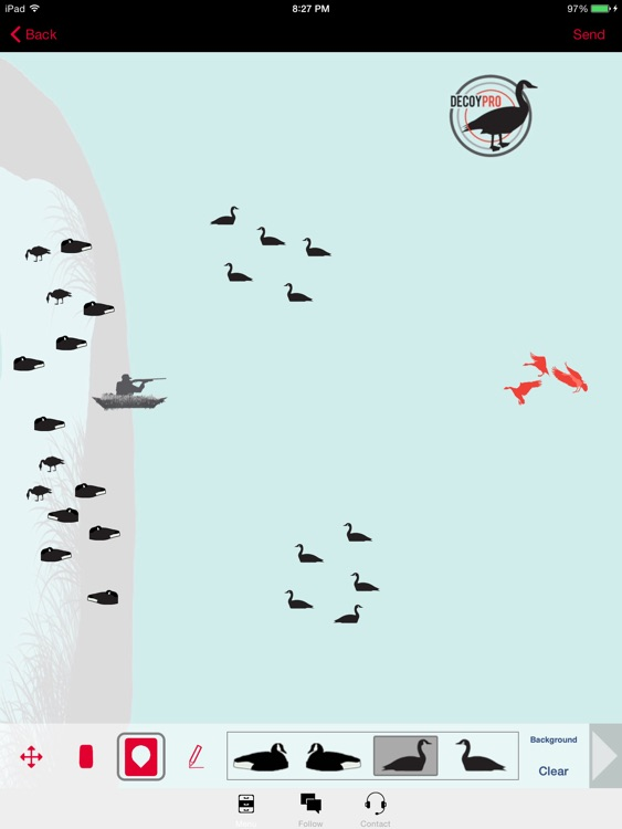 Goose Hunting Diagram Builder Canada Goose Hunting screenshot-3