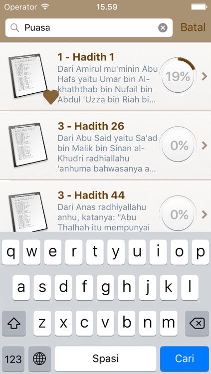 Riyad as-Salihin di Bahasa Indonesia dan di Arab - Taman Orang-orang Salih - رياض الصالحين screenshot-3