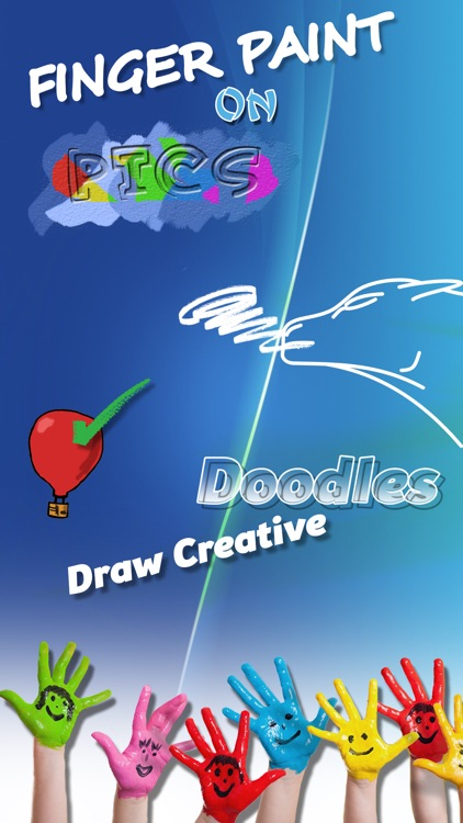 Finger Painting on Pics – Draw Creative Doodles and Add Multiple Colors in Virtual Booth screenshot-3