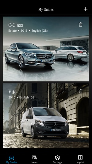 Mercedes benz guides on the app store screenshots fandeluxe Images