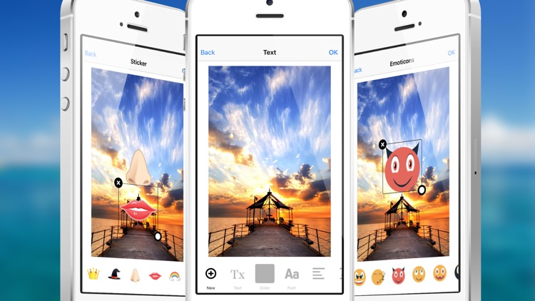Photo Editor Pro : Change shape, size and color of your image and add sticker, effect to share or save it. screenshot-4