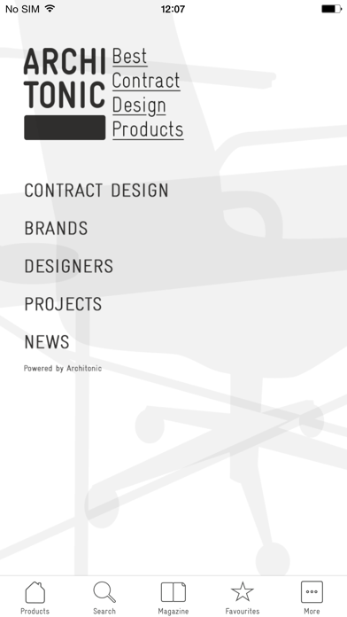 Best Contract Design Products screenshot one
