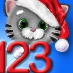 Fun Math Kitty Cat 123 – Learn to Count & Write Numbers - Christmas Edition