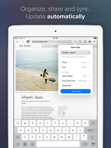 Скриншот из Offline Pages Pro