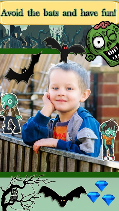 Zombie Challenge Run Game with Zombies: Fun for Early Grades and Kindergarten Kids screenshot two