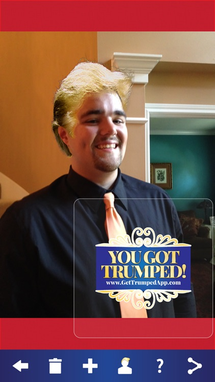 Get Trumped - Billionaire Hair Photo Booth