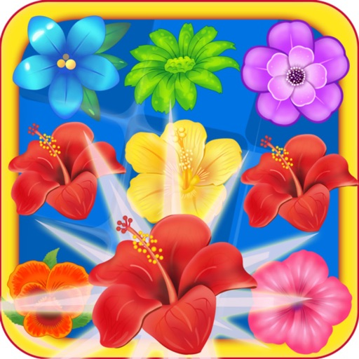 Island Flowers Linking:Puzzle Game iOS App