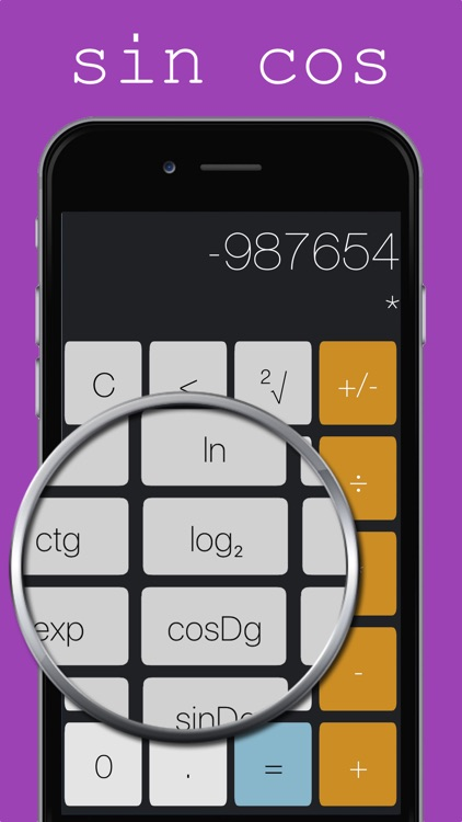 Calculightor - light and easy calculator screenshot-1