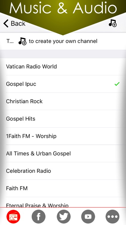 Christian Music plus Vatican news and talk Christianity radio , Gospel church songs from online internet radios station