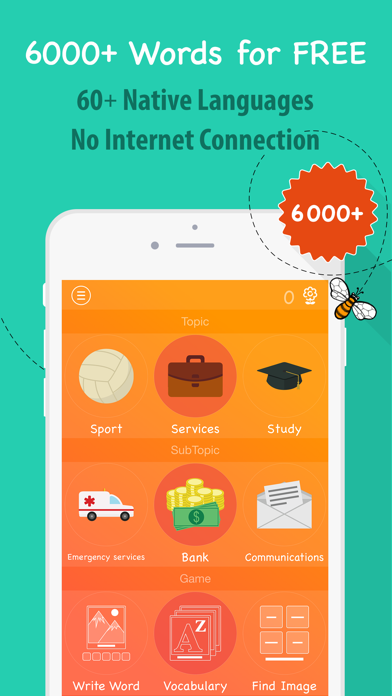 6000 Words - Learn Croatian Language for Free screenshot one