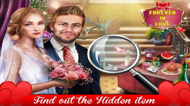 Forever in Love Hidden Objects Games
