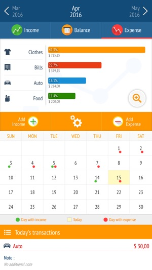 Expense manager - Money tracker on the App Store