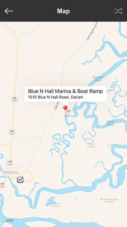 Georgia Boat Ramps & Fishing Ramps screenshot-3